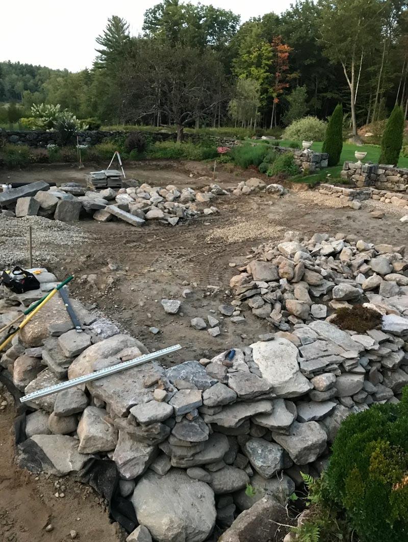 Construction at Cranberry Meadow Farm