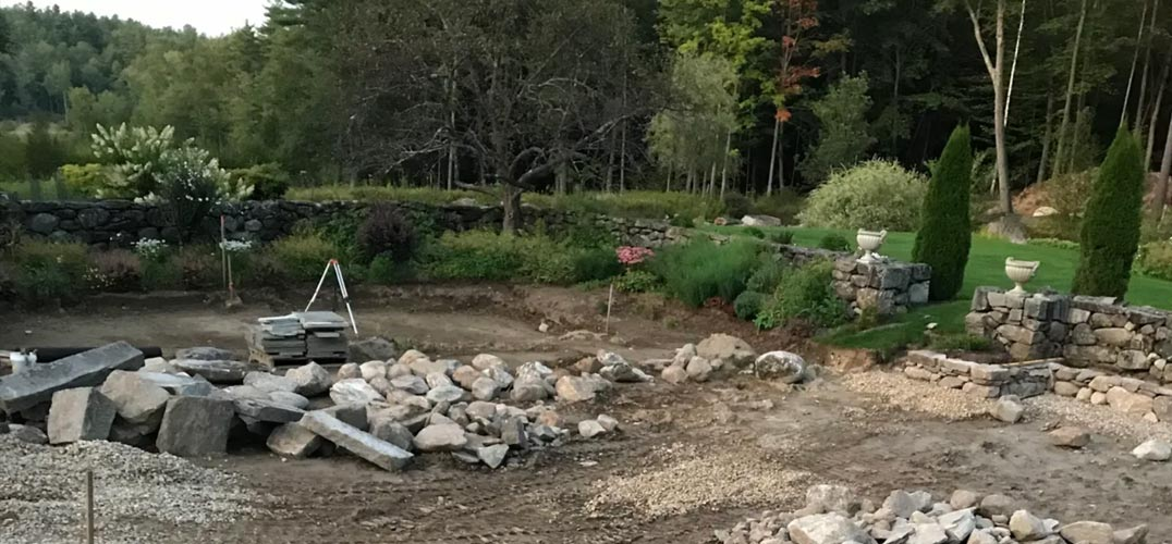 Construction at Cranberry Meadow Farm