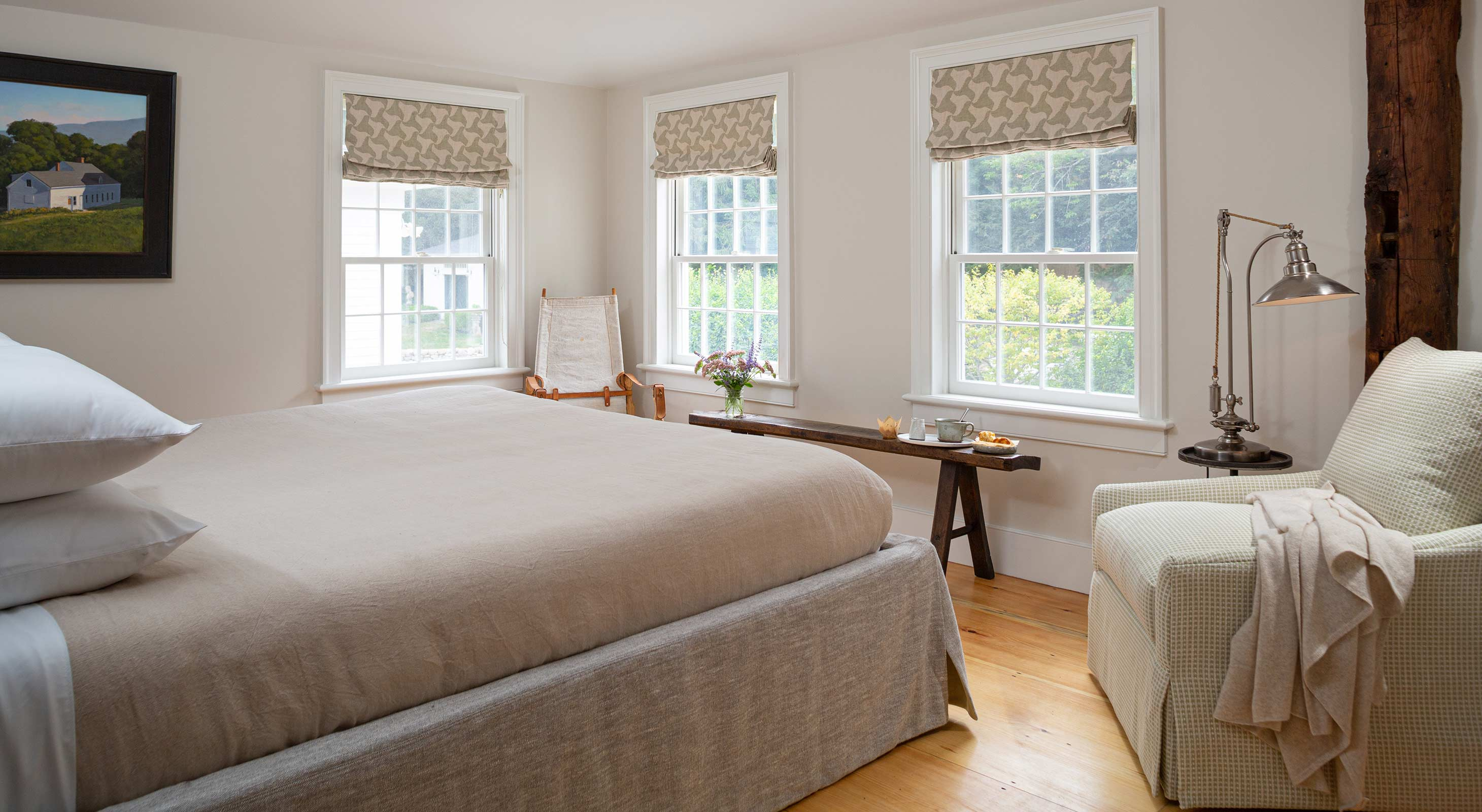 Nickerson Room at our romantic New Hampshire inn