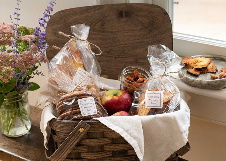 Cranberry Meadow Farm Gift Basket